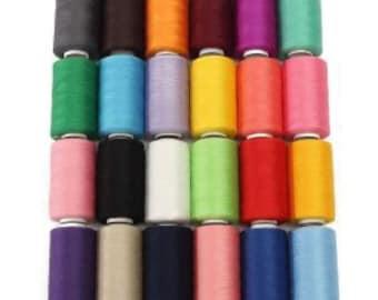 1000 yards polyester sewing machine thread