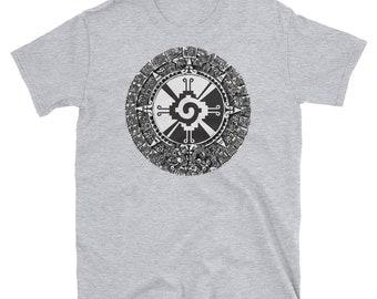 70c4be063 Hunab Ku Aztec Mayan Calendar Symbol T-Shirt