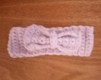 Baby girls crochet headband