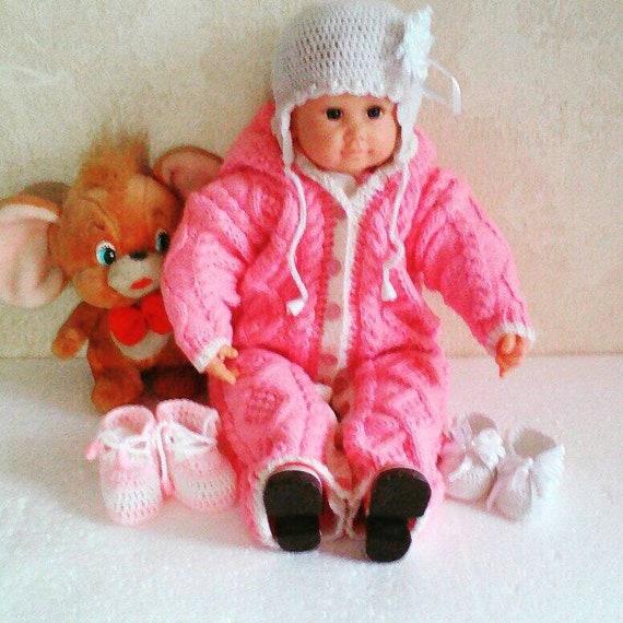 Les enfants romper nouveau-né Combi-short tricoté salopette pour nouveau-né tricoté à la main barboteuse salopette pour bébé Combi-short pour nouveau-né nouveau-né tenue de vêtements pour bébé