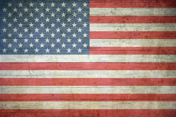 distressed american flag backdrop flag backdrop rustic flag etsy