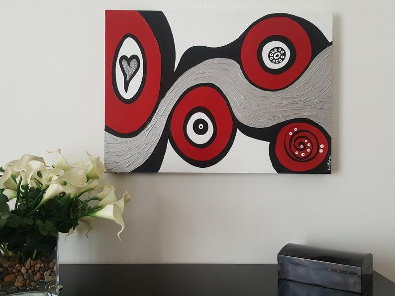 Doronarte 100% handmade quadro dipinto a mano onde etsy