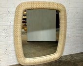 Lexington Furniture Haley Carter Unfinished Woven Wicker Mirror