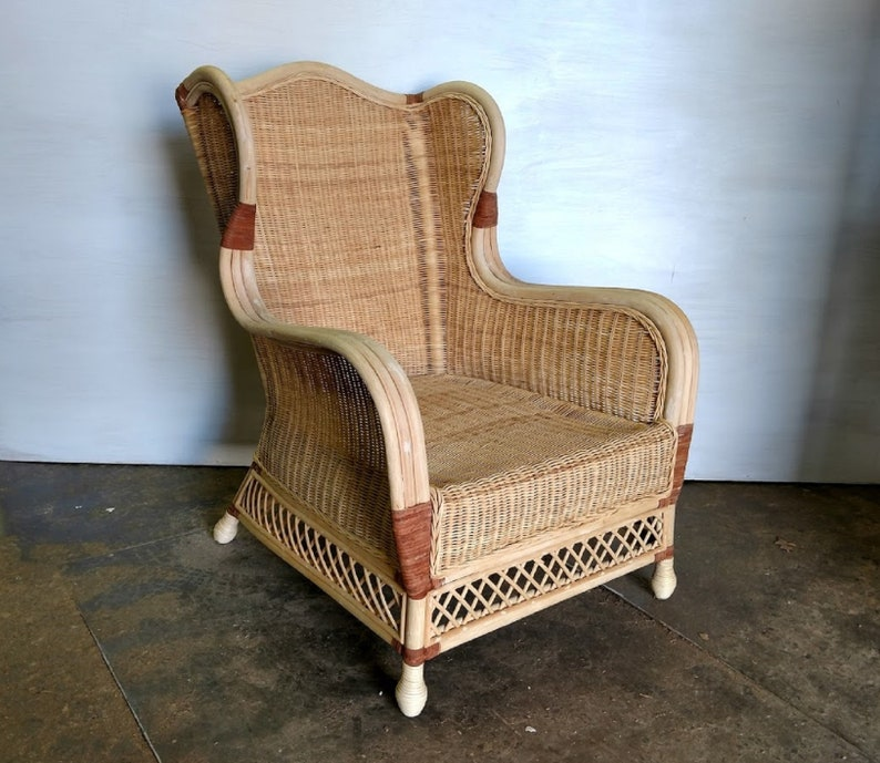 Excellent Xs Upholstery Unfinished Raw Woven Wicker Accent Chair Frame Ocoug Best Dining Table And Chair Ideas Images Ocougorg