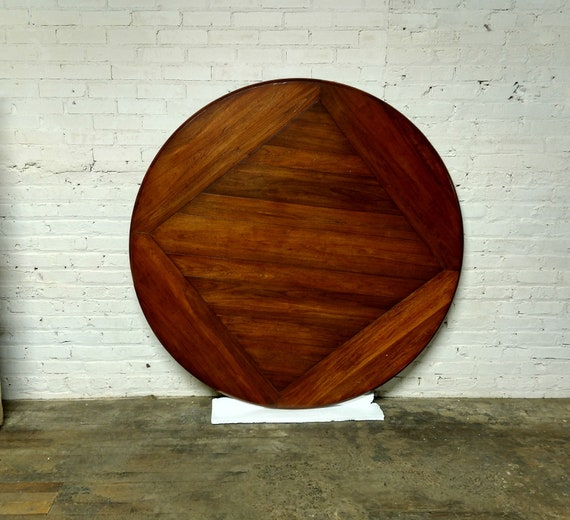 Stupendous Vanguard Furniture Highlands Cherry 60 Round Table Top Andrewgaddart Wooden Chair Designs For Living Room Andrewgaddartcom