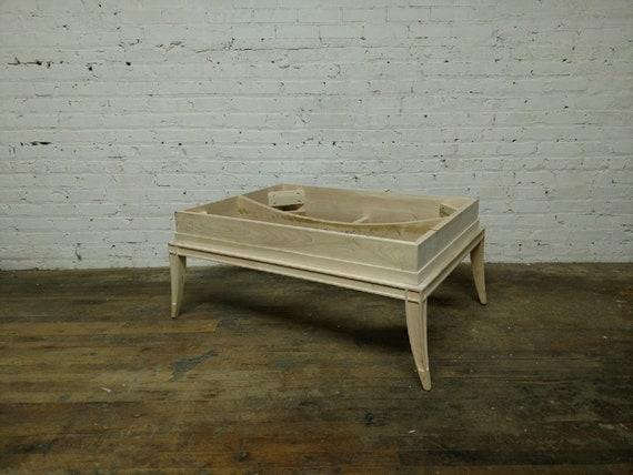 Superb Vanguard Furniture Unfinished Raw Rectangle Cocktail Ottoman Frame Ibusinesslaw Wood Chair Design Ideas Ibusinesslaworg