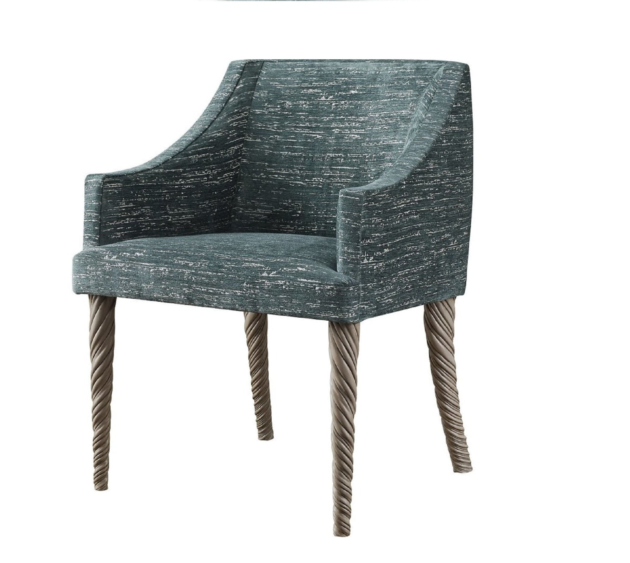 Custom Upholstered Narwhal Chair in COM