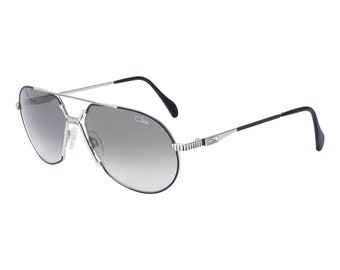 5adbf30524b8 Cazal Legends unisex 968 002 Black Silver Fashion Sunglasses 62mm
