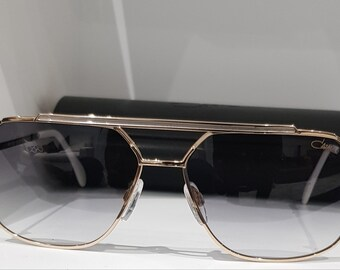 28874f0c74ec New Cazal 9081 Gold and Silver Sunglasses
