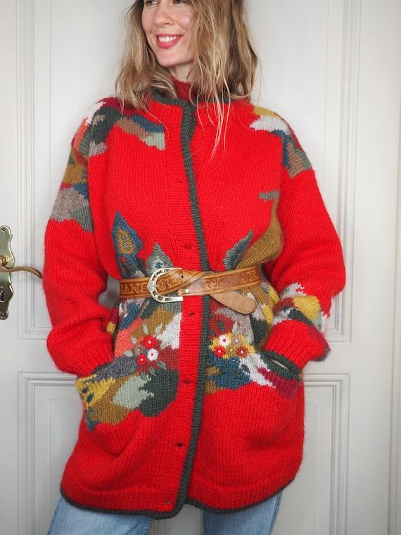 Cardihere, embroidered cardigan, winter cardigan,