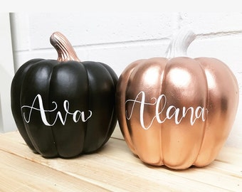 "Hollow w//Green /""Stem/"" Lid for DOLLHOUSE Miniature Glass Halloween Pumpkin Jar"