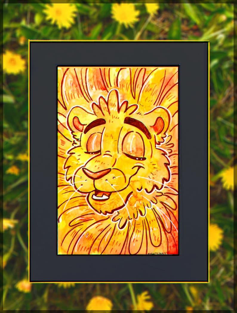 Dandelion 4x6 Original