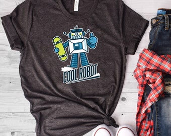 b52a72e21 Cool Robot Shirt