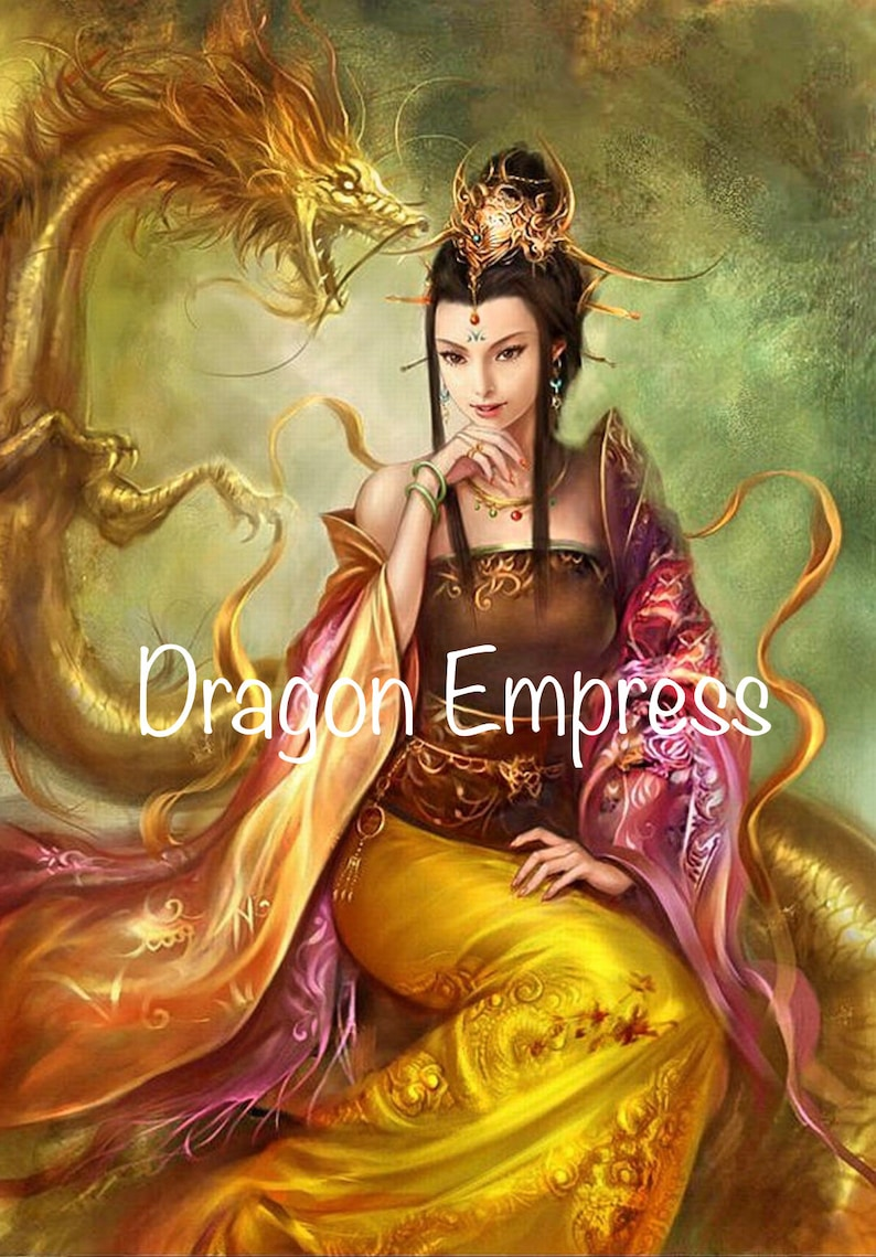 Preorder 60x8080x120cm Dragon Empress Diamond Painting Kit
