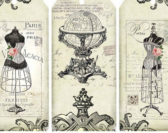 Rice Papers for Decoupage Scrapbook Craft Drawings of Animals 81