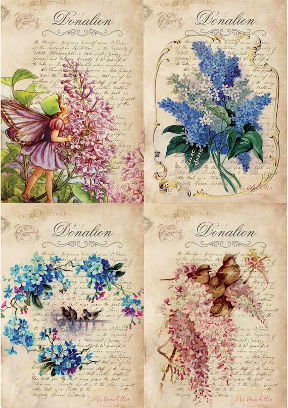 4 Lunch Paper Napkins for Decoupage Craft Vintage Napkin Olives Art