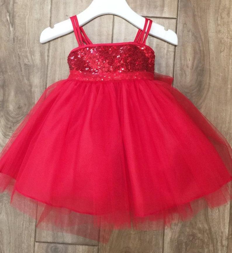 932b152b53 Flower Girl Dress, red sequin Dress,FREE SHIPPING, Red sequin girl dress,  Flower Girl, Wedding Flower Girl Dress, red girl dress, red sequin