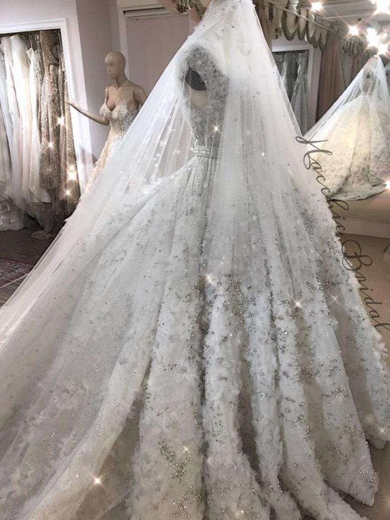 Elie Saab Wedding Dresses.Elie Saab Inspired Wedding Dress
