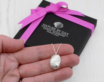 Abalone Shell Necklace. Handmade beautiful silver shell necklace. A gift that symbolises love, beauty & good fortune.