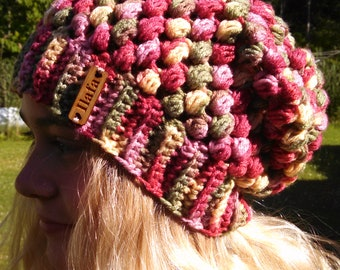 """One of a kind """"Ilafa"""" handcrafted slouch beanie"""