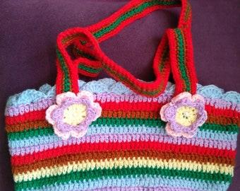 Cute crocheted bag