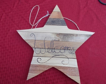 Large Wooden Star