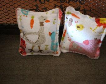 Cat toy/ Catnip pillow/ Organic catnip/ Barnyard