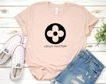 223821abb1b1 Louis Vuitton Shirt   LV Shirt   Louis Vuitton Flower Shirt