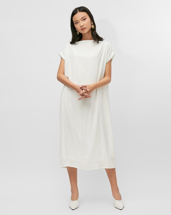 Bonnie Kaftan Dress - Minimalist Dress - Plus size Dress - Simple wedding  dress