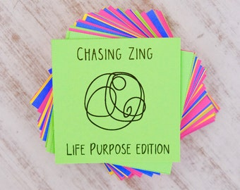 Life Purpose Self Discovery Prompts - Conversation Starters - Inspirational Cards - Journal Cards - Writing Prompts