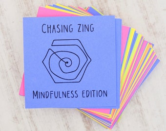 Mindfulness Reflection Cards - Conversation Starters - Inspirational Cards - Journal Cards - Writing Prompts