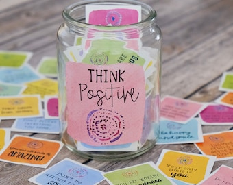Printable Positive Message Motivational Cards - Set 1 - Inspirational Cards - Quote Cards - Intention Cards