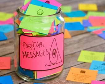 Ink Friendly Positive Message Motivational Cards: Spreading Inspiration, Kindness, and Positive Vibes is as easy as Print & Share!