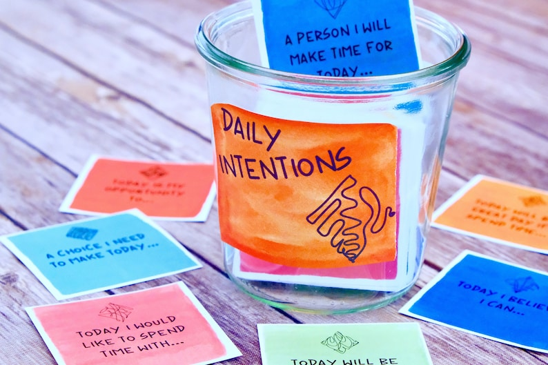 Intention and Self Discovery Reflection Cards  Inspirational image 0
