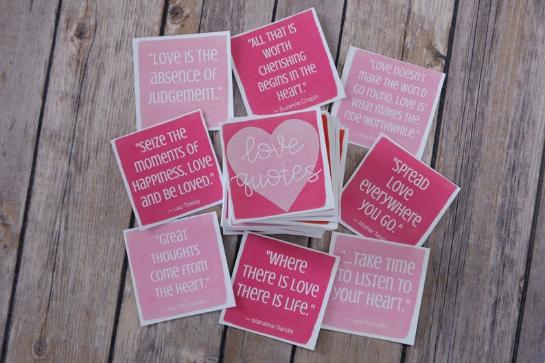 Love Quote Cards  Positive Messages Inspiration and image 0