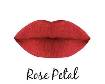 Matte Liquid lipstick (Rose Petal)