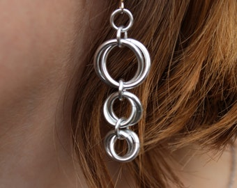Mobius Chainmaille Earrings