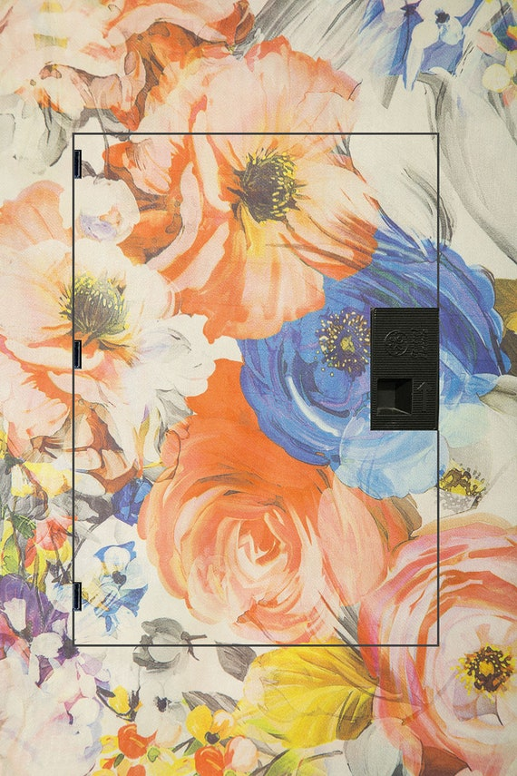 Summer Blooms Decorative Electrical Panel Fuse Box Cover Etsy