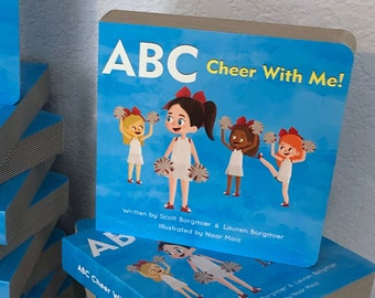 ABC Cheer With Me! 10 Pack - Children's Cheerleading ABCs Book [Wholesale - Bulk - Retail]