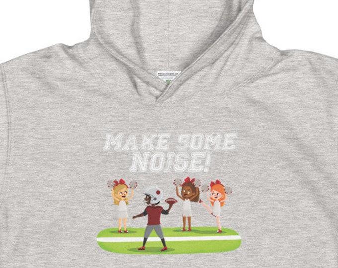Make Some Noise Kids Football Hoodie