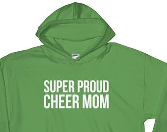 Super Proud Cheer Mom Hoodie