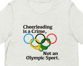 Cheerleading is a Crime T-Shirt