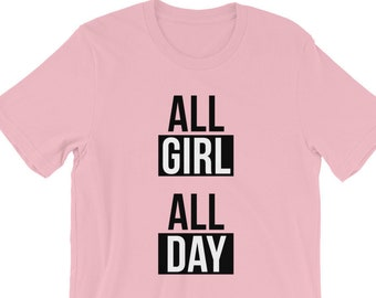 All Girl All Day Cheer T-Shirt