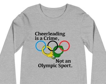 Cheerleading is a Crime Longsleeve Tee
