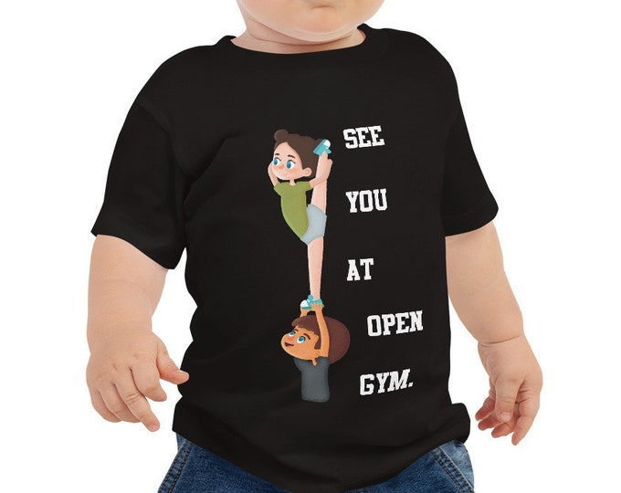 Open Gym Stunting Cheer Baby T-Shirt
