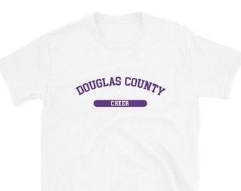 Douglas County Cheer T-Shirt (white tee)