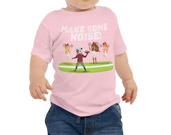 Make Some Noise Football Game Short Sleeve T-Shirt (Baby/Toddler)