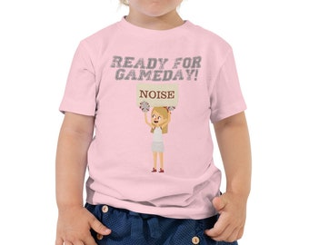 Ready for Game Day Toddler Short Sleeve Tee