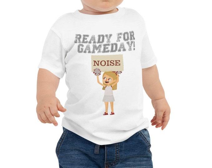 Ready for Gameday Toddler Short Sleeve Tee for Football Season