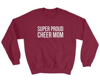 Super Proud Cheer Mom Sweatshirt